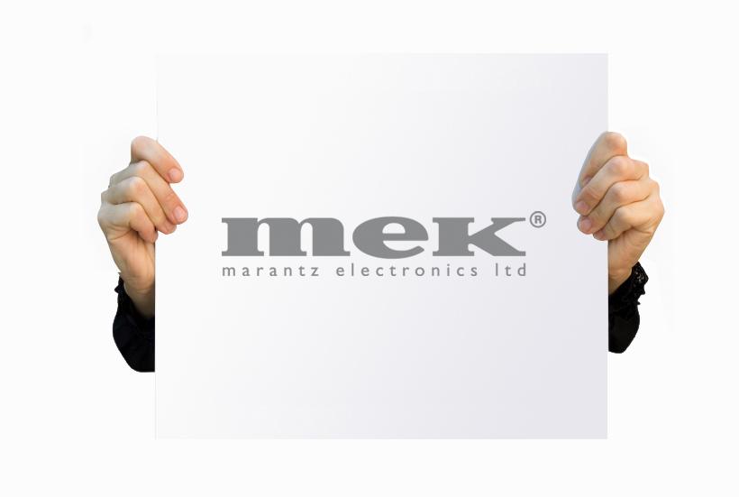 Logo design - Mek (Marantz Electronics) logo design