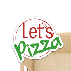 Lets Pizza logo