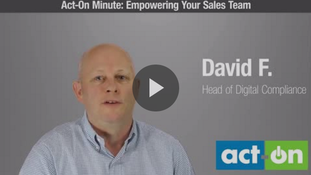Sales team empowerment