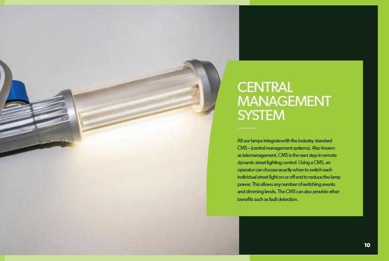 Brochure design - Hardie Street Lighting brochure - pg 10