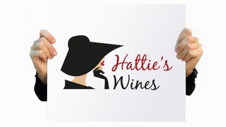 Logo design & branding - Hatties Wines